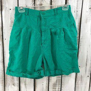 Vtg 90s Gitano Retro High Waist Denim Mom Shorts